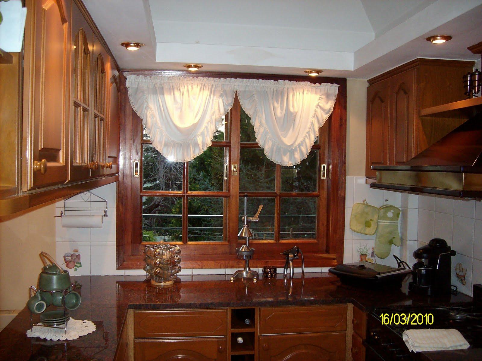 Emy decoraciones cortinas de cocina for Cortinas de cocina originales