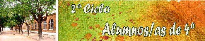2º Ciclo - Alumnos/as de 4º