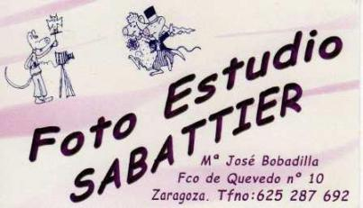 FOTO ESTUDIO SABATTIER