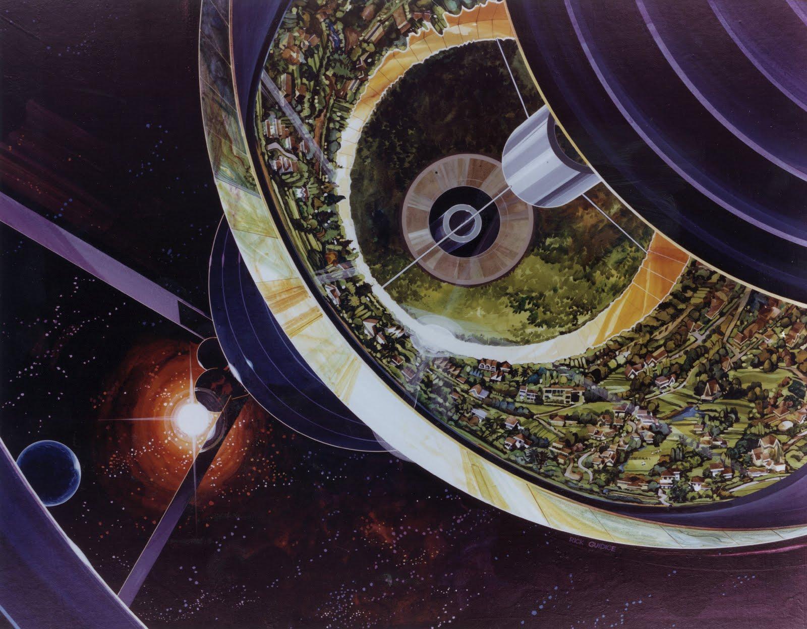 multiple torus space station - photo #42