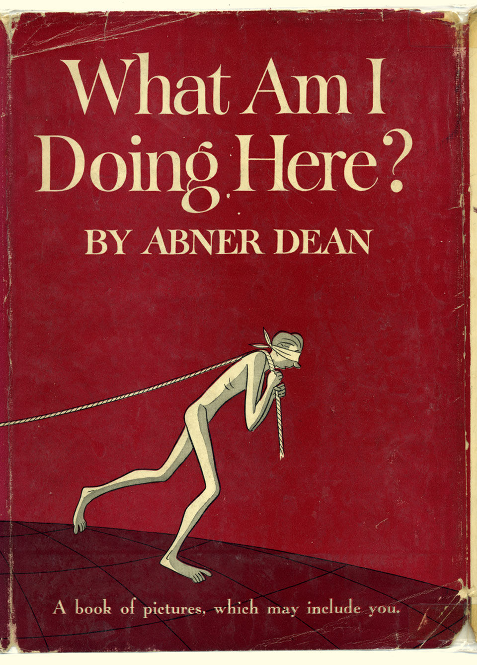 What Am I Doing Here? Existential absurdist cartoons from