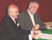 Santiago Gangotena (left) and Josef Strobl