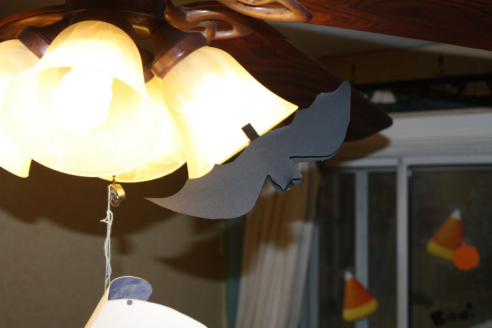 bat on fan