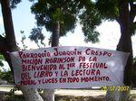 1er Festival del Libro y la Lectura. Comunidad Piñonal del Municipio Giradot