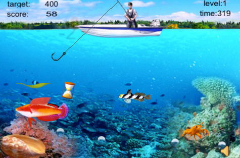 Crazy finger fishing cool iphone apps accessories and news for Cool fishing games