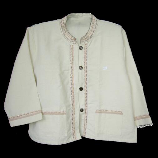 เสื้อคอจีน ผ้าฝ้ายทอ