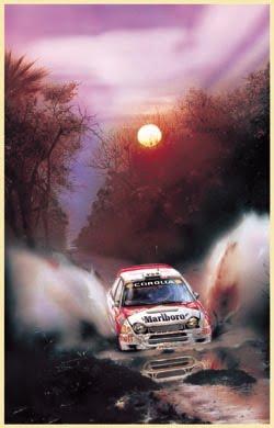 Poster Oficial del Transchaco Rally
