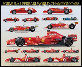 Formula 1 Ferrari  World Champion Cars