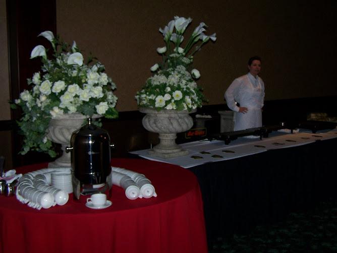 """20 Juin, 2009 - Buffet de minuit servi par Dic Ann's """"mobile"""""""