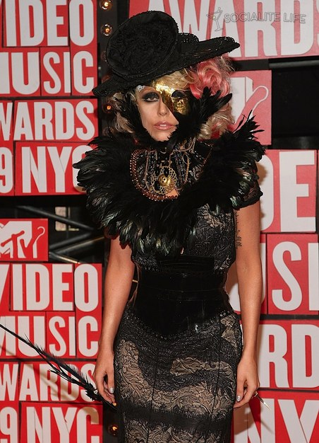 Lady Gaga 2009 mtv video music awards. Posted by Glamour at 1:49 AM