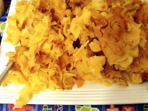 The Pursuit of Happiness: Sweet Apricot Kugel
