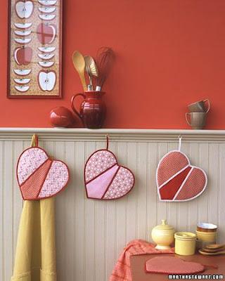 Manualidades - Agarradores de cocina hechos a mano
