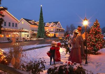 Vivir una Navidad de pelicula en Estados Unidos