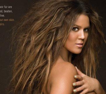 khloe kardashian campaign