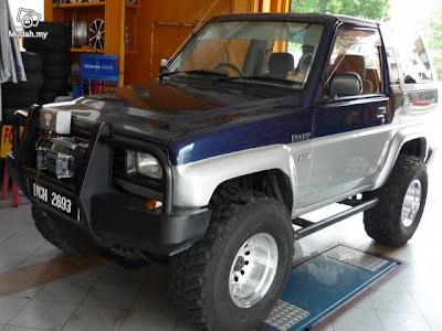 Kelab 4x4 Pahang: Daihatsu Feroza
