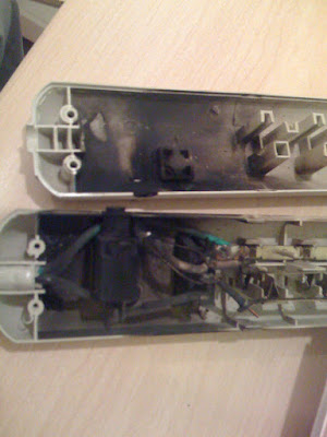 What Fried Power Strip Looked Like On Inside
