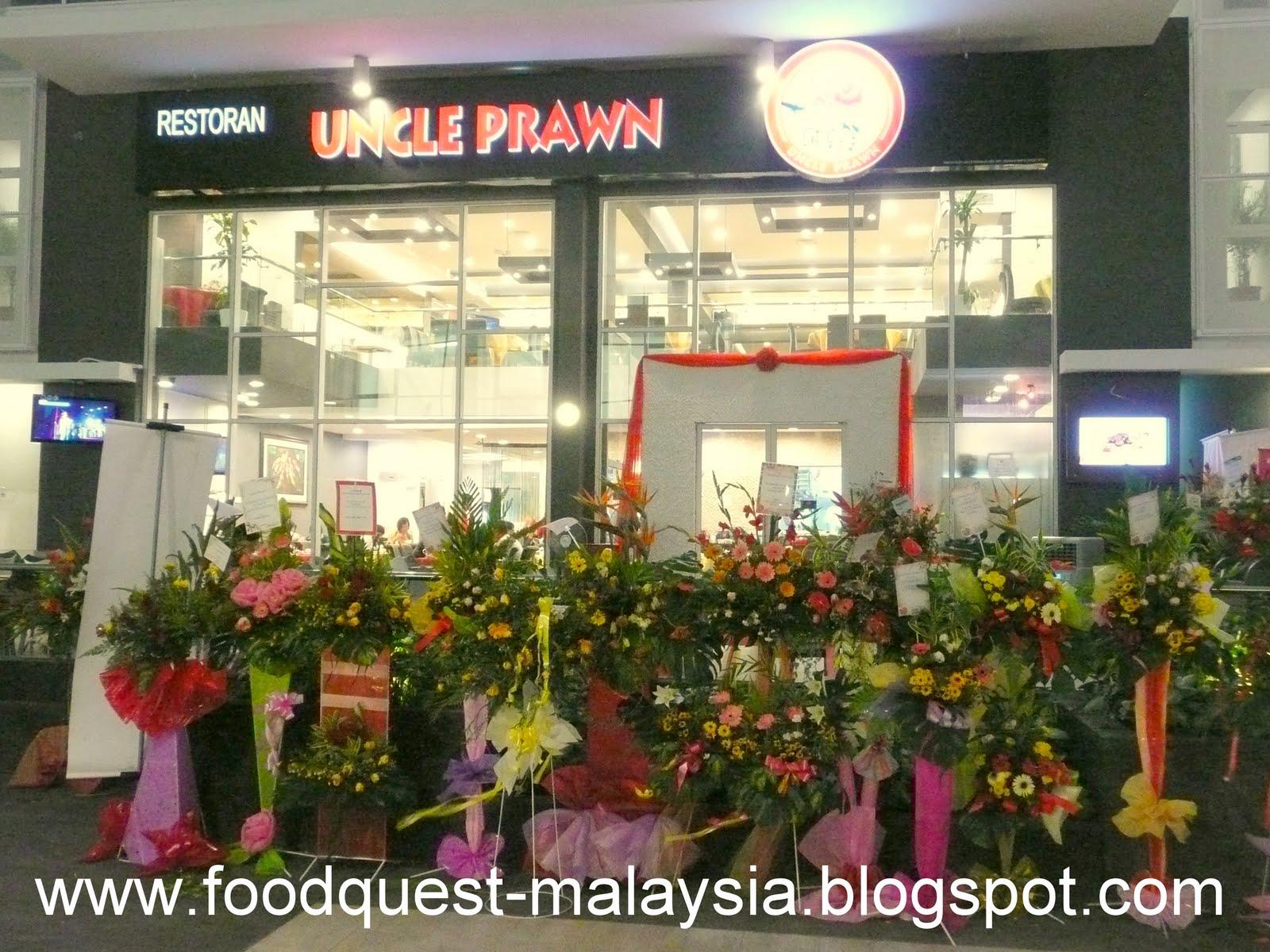 Food quest uncle prawn sunway giza for Food bar kota damansara