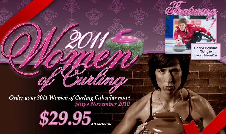 Womens curling calendar 2014