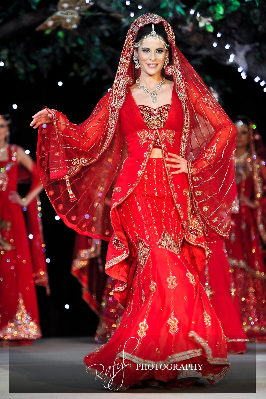 Breathtaking asian couture dresses at the asiana bridal for Asian bridal wedding dresses