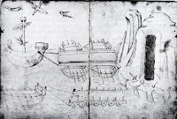 Drawing of ship suspected to be Il Badalone