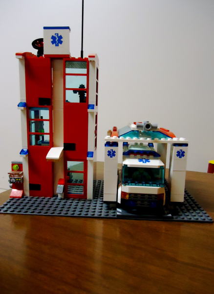 lego city hospital 7892 instructions