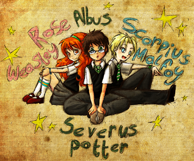 El FC de Harry Potter Rose,+Albus,+Scorpius
