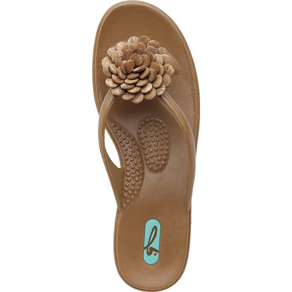 Hot Chocolate Multiple Sizes Oka-B Women/'s Jasmine Massaging Sandals//Slides