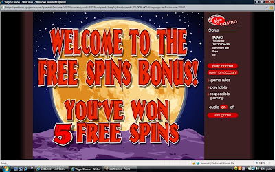 Wolf Run slot machine bonus round