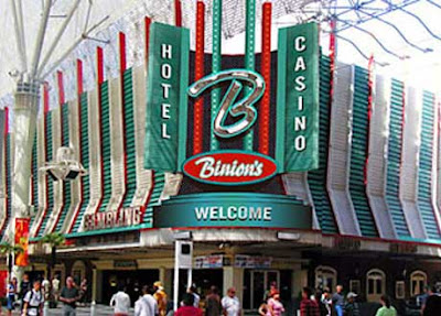 Binions Casino Las Vegas - but their hotel rooms are no longer open