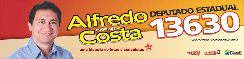 Alfredo Costa 13630 Deputado Estadual