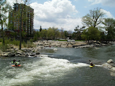 WhiteWater Park in downtown Reno
