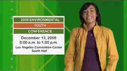 2008 ENVIRONMENTAL YOUTH CONFERENCE VIDEO PSA