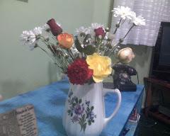 Minhas flores de todos sábados.