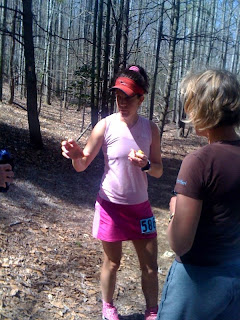 Amy Sproston Bull Run Run 50 mile