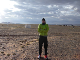 Michael Wardian Buff Marathon des Sables