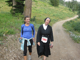 Sister Mary Beth Lloyd Grand Teton 50 mile