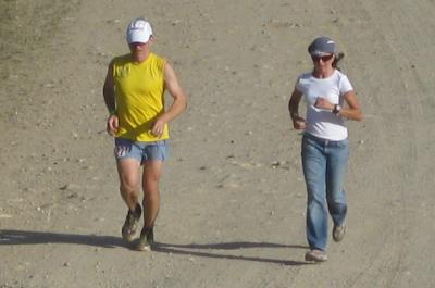 Leadville 100 mile 2009 Garett Graubins Holly