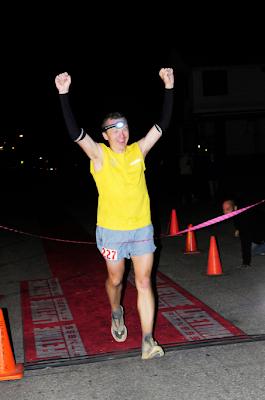 Leadville 100 mile 2009 Garett Graubins finish