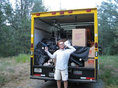 Bryon Powell rental truck