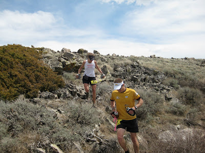 Krissy Moehl Luke Nelson Pocatello 50 mile
