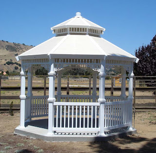 Tiffany Vinyl Gazebo
