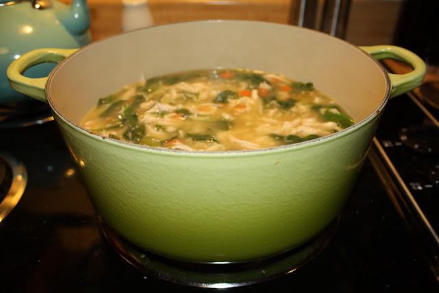 chicken & orzo soup - karainthekitchen.com