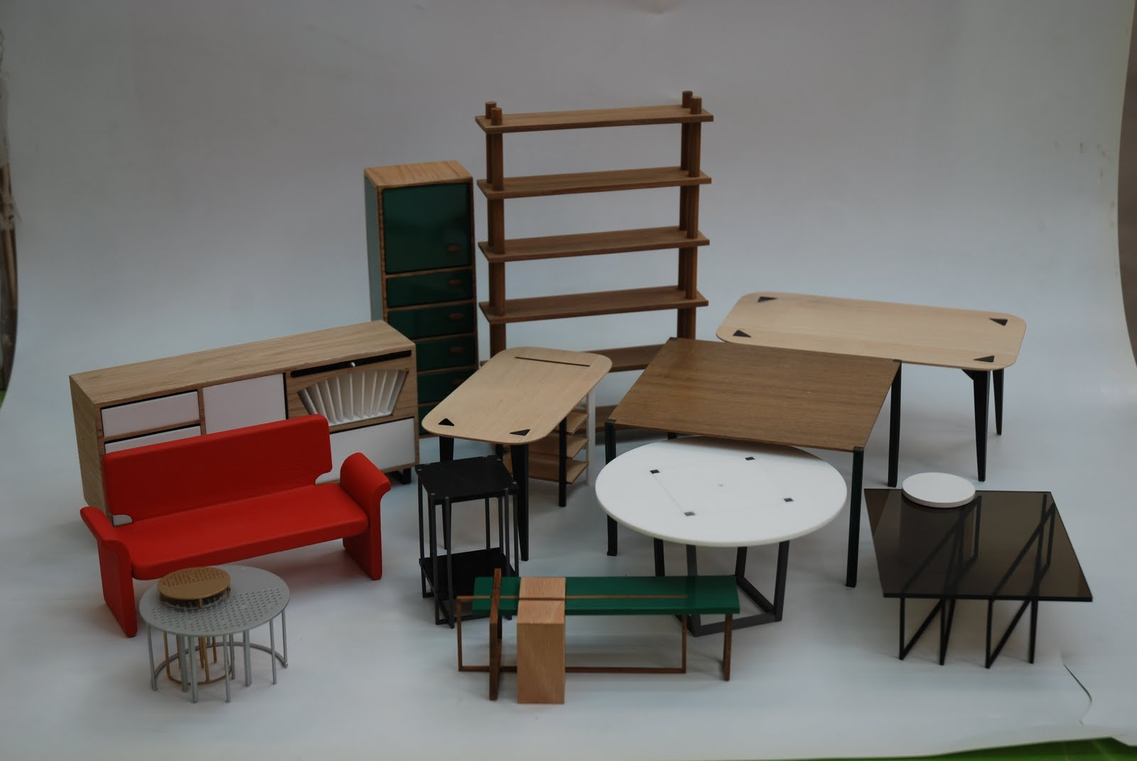 Oceano naranja news maquetas de muebles a escala for Muebles a escala 1 50 para planos