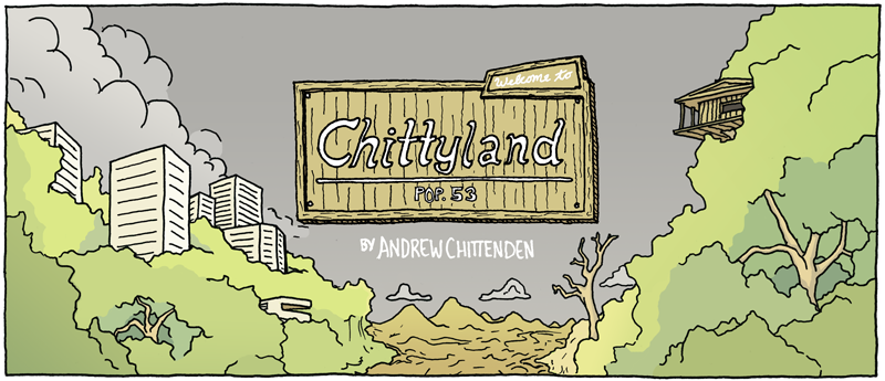 chittyland - an interweb comic