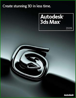 3ds Max Logo. AutoDesk 3ds Max 2009