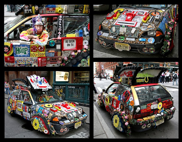 Royal Hoopmobile Art Car