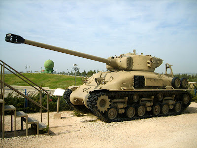Tanque Sherman mejorado por Israel