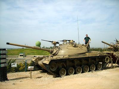 Tanque Patton de Israel, usado también por Jordania