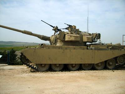 Tanque Centurion - Israel