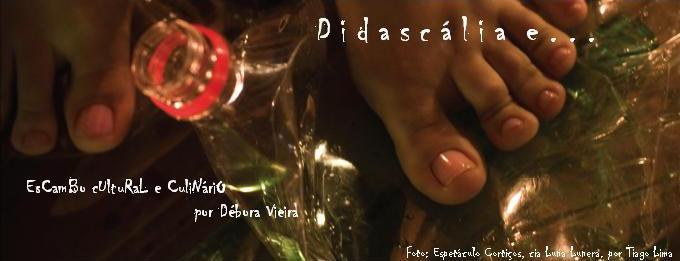Didascália e...